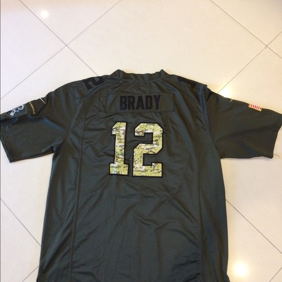 promo code 8f088 d36d6 Tom Brady Nike Salute To Service Limited JerseyXXL